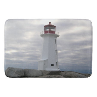 Peggy's Cove  Lighthouse Route Nova Scotia mat