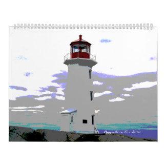 Peggy's Cove  Nova Scotia Lighthouse Calendar