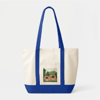 Pekingese King & Queen with Dream Castle Tote Bag