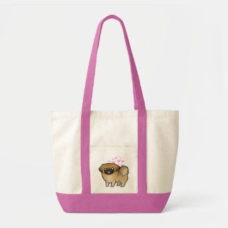 Pekingese Love (puppy cut) Tote Bag