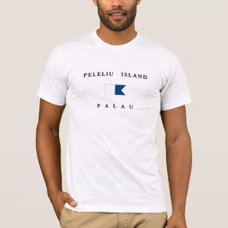 Peleliu Island Palau Alpha Dive Flag T-Shirt