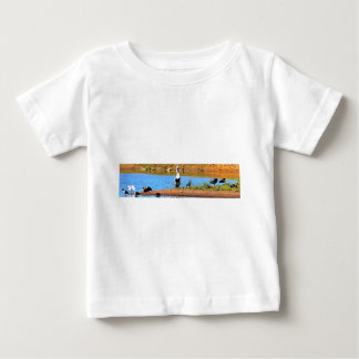 PELICAN IN RURAL QUEENSLAND AUSTRALIA BABY T-Shirt