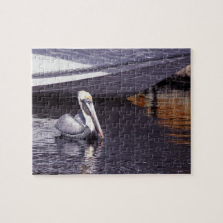 Pelican in the Water Jigsaw Puzzle