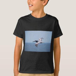PELICAN OVER ST GEORGE ISLAND FL T-Shirt