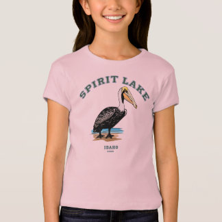 Pelican Paradise! Spirit Lake, Idaho 83869 T-Shirt