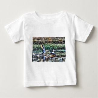 PELICANS RURAL AUSTRALIA WITH ART EFFECTS BABY T-Shirt