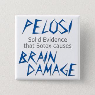 Pelosi 15 Cm Square Badge