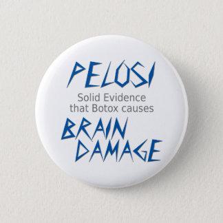 Pelosi 6 Cm Round Badge