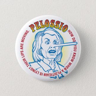 PELOSI is now Pellosio 6 Cm Round Badge