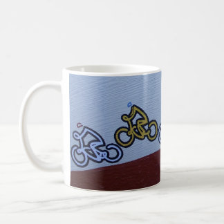 Peloton Cycle race mug