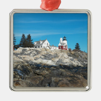Pemaquid Point Lighthouse 4 Christmas Ornament