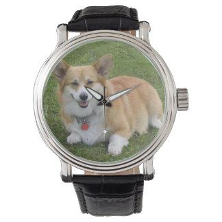 Pembroke Welsh Corgi Wrist Watch