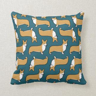 Pembroke Welsh Corgis Pattern Cushion