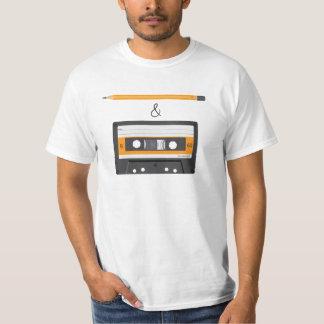 Pencil & Compact Cassette riddle T-Shirt