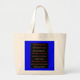Pendragon Deville Poem tote Jumbo Tote Bag