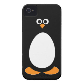 Penguin Arctic animal bird ocean polar snow happy Case-Mate iPhone 4 Case