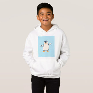 Penguin Hug Illustration