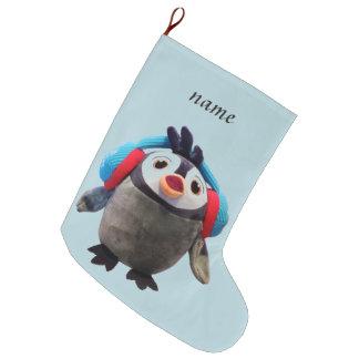 Penguin Large Christmas Stocking