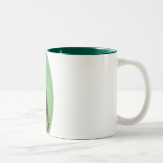 Penguin oval Two-Tone coffee mug