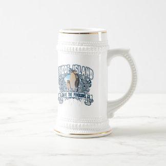 Penguin Rhode Island Beer Stein