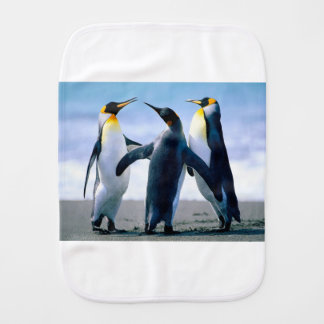 Penguins Baby Burp Cloths