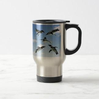Penguins in the Sky コーヒーマグカップ
