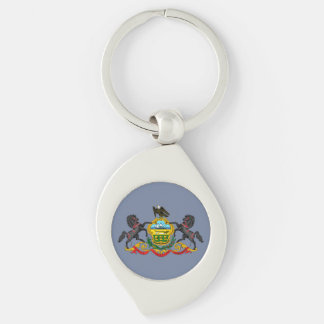 Pennsylvania Coat of Arms Key Ring