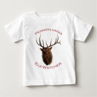 Pennsylvania Elk-Watcher Baby T-Shirt