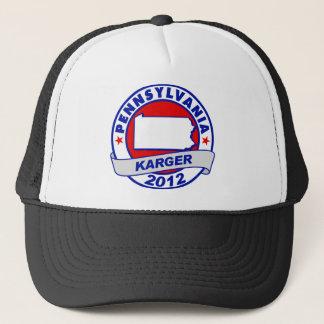 Pennsylvania Fred Karger Trucker Hat