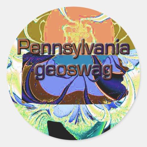 Pennsylvania Geocaching Supplies Stickers Geoswag