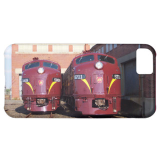 Pennsylvania Railroad E-8a,s (JTFS) 5809 and 5711 iPhone 5C Case