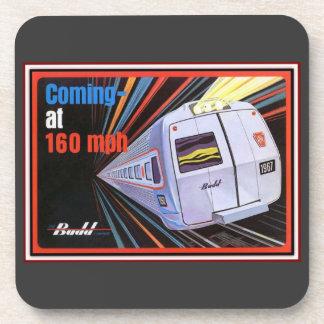 Pennsylvania Railroad Metroliner 1967 Cork Coaster