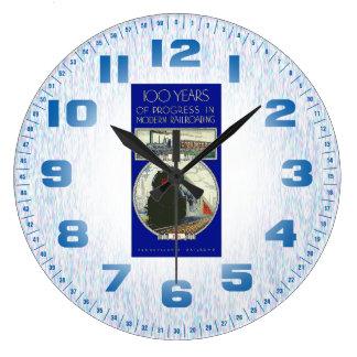 Pennsylvania Railroad Progress Large Clock