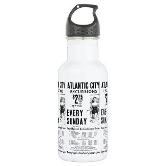 Pennsylvania Reading Seashore Lines 1962 532 Ml Water Bottle