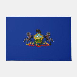 Pennsylvania State Flag Design Doormat