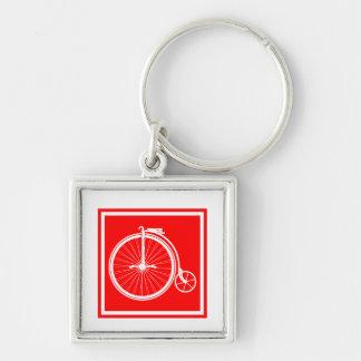 Penny Farthing High Wheeler Key Ring