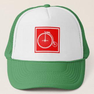 Penny Farthing High Wheeler Trucker Hat