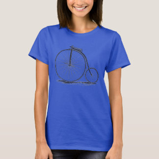 Penny Farthing Vintage High-Wheel Bicycle T-Shirt