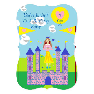 Penny Princess My Gift Is Love 13 Cm X 18 Cm Invitation Card