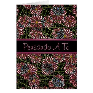 Pensando A Te, Italian Thinking of you card