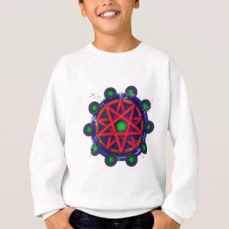 Pentacle_glow Sweatshirt