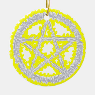 Pentacle of Air Christmas Ornament