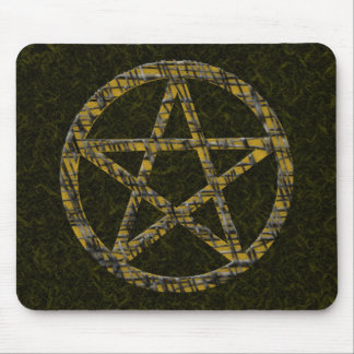 Pentacles: Gold Mouse Pad