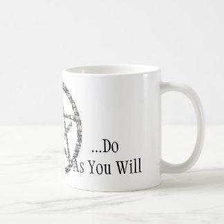 Pentacles Basic White Mug