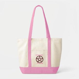 Pentacles: Pink Impulse Tote Bag