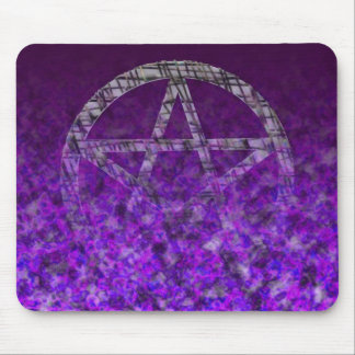 Pentacles: Silver Mouse Pad