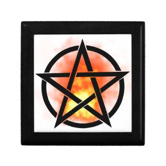Pentagram - fire gift box