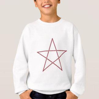 Pentagram of rubies pentagram rubies sweatshirt