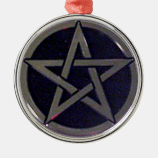 Pentagram Silver Ornament or Pendant
