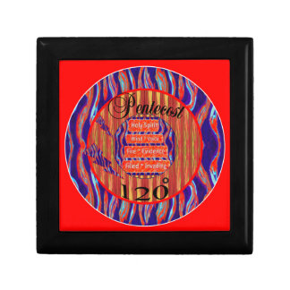 Pentecost 120 Degrees Holy Spirit Jewelry Boxes